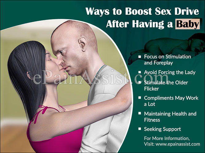 Ways to Boost Sex Drive After Having a Baby
