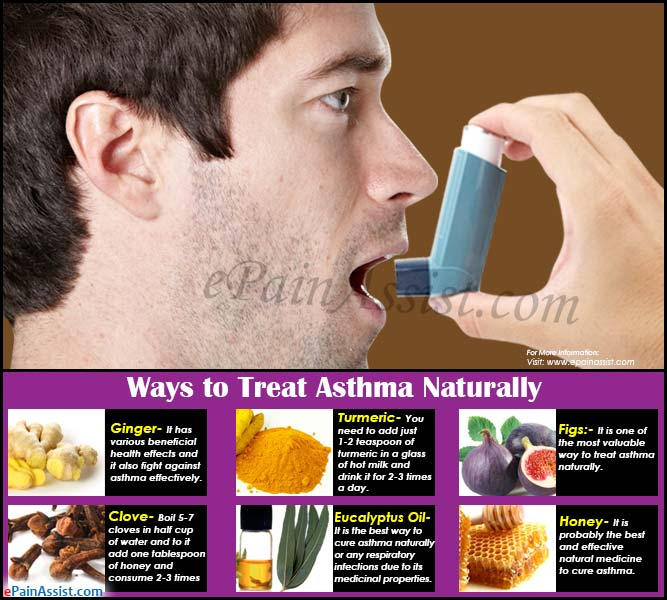 Ways to Treat Asthma Naturally