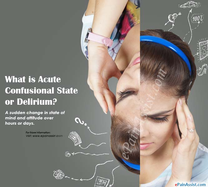 What is Acute Confusional State or Delirium?