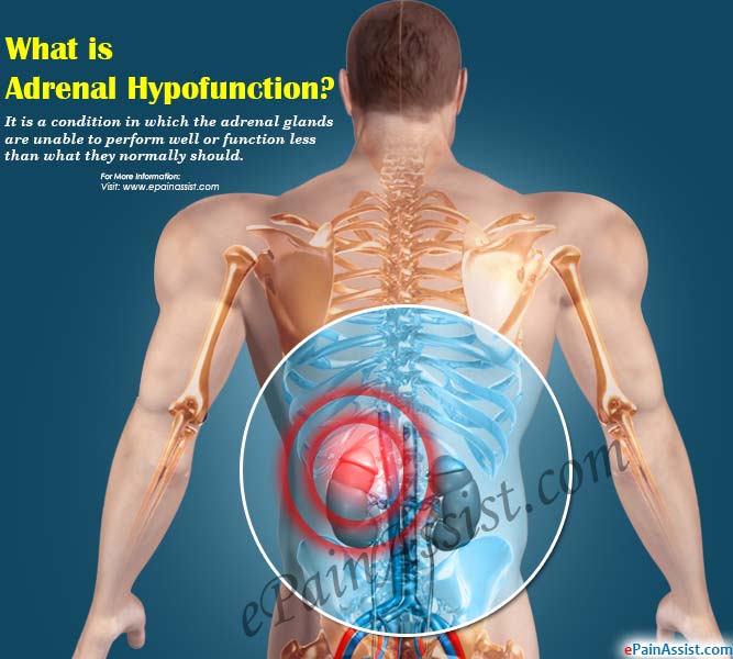 What is Adrenal Hypofunction?