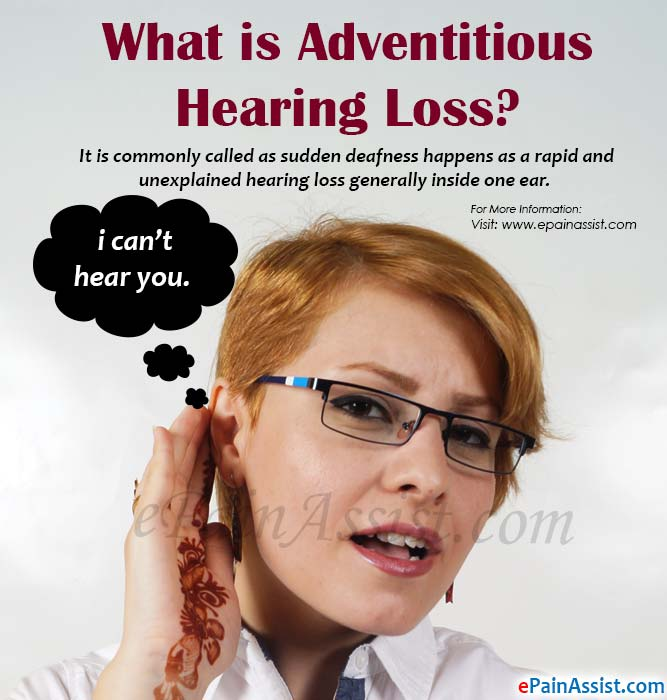 What is Adventitious Hearing Loss?