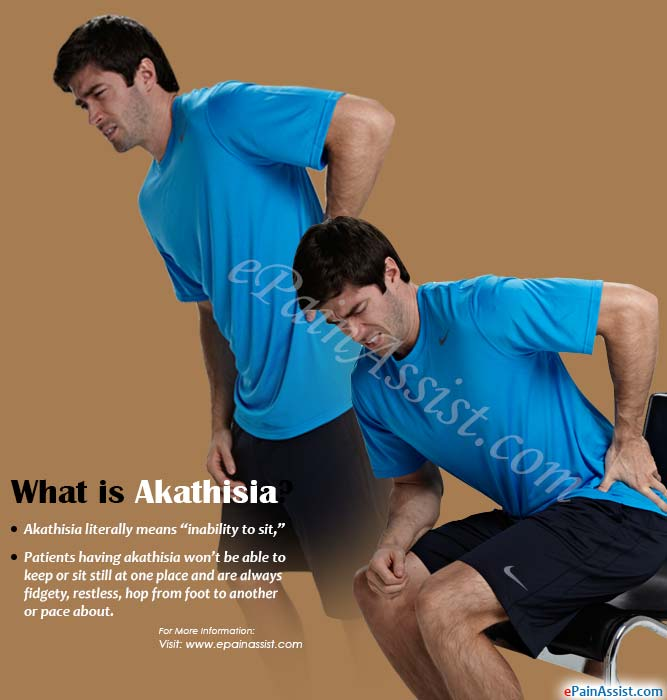 What is Akathisia?
