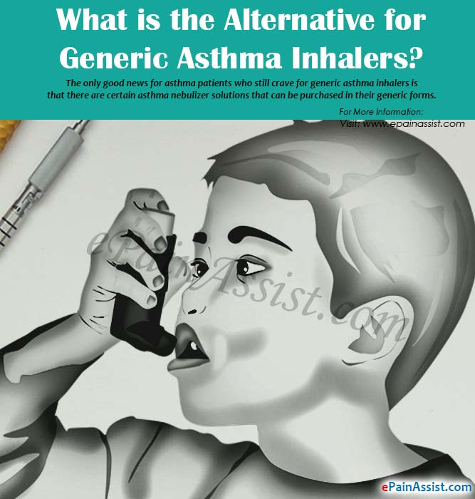What is the Alternative for Generic Asthma Inhalers?