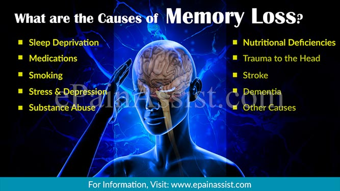 What are the Causes of Memory Loss?