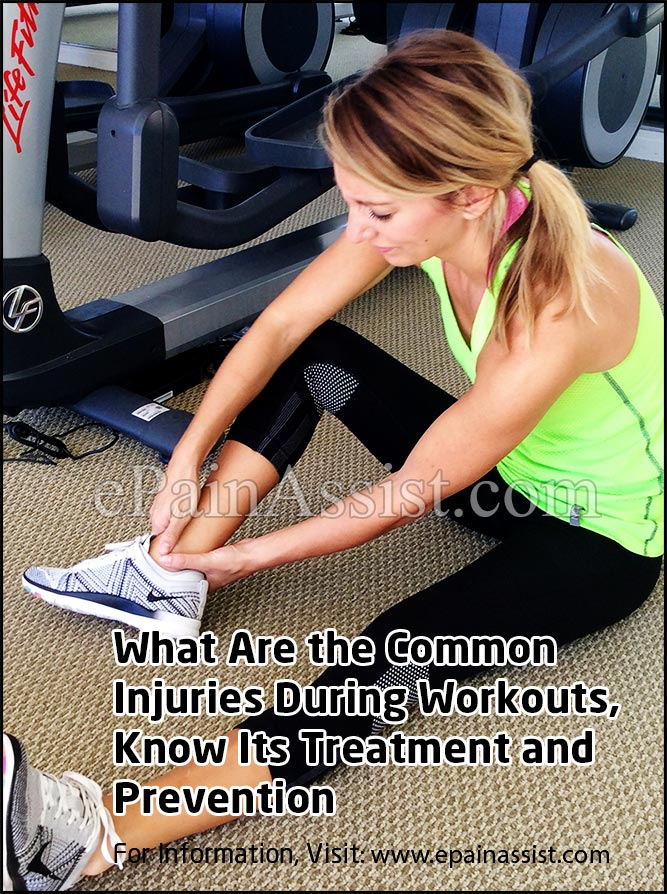 What are the Common Injuries During Workout?