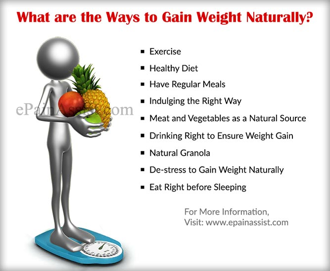 How to gain weight naturally: 10 tips to effective weight gain