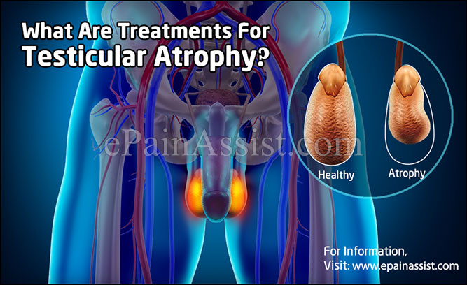 What Are Treatments For Testicular Atrophy?