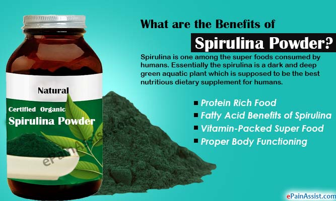 What are the Benefits of Spirulina Powder?
