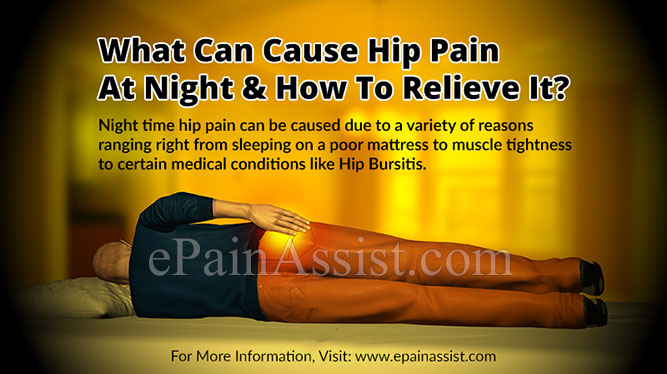 What Can Cause Hip Pain at Night?