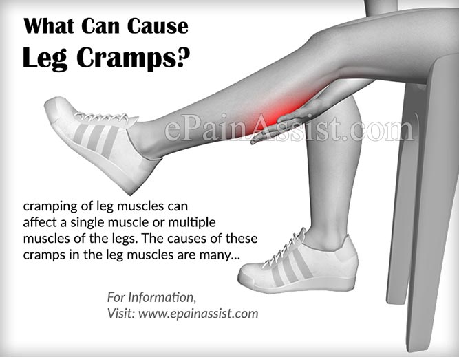 What Can Cause Leg Cramps and Treatment To Stop Cramping of Leg ...