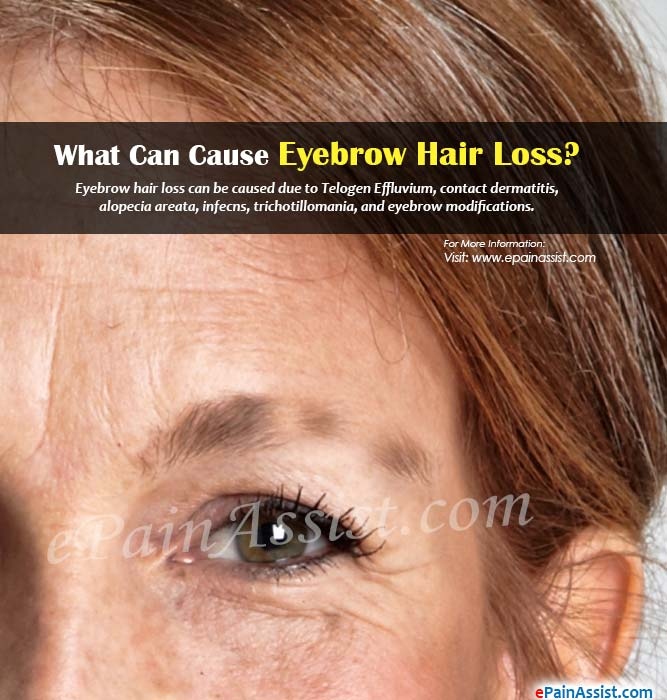 What Can Cause Eyebrow Hair Loss