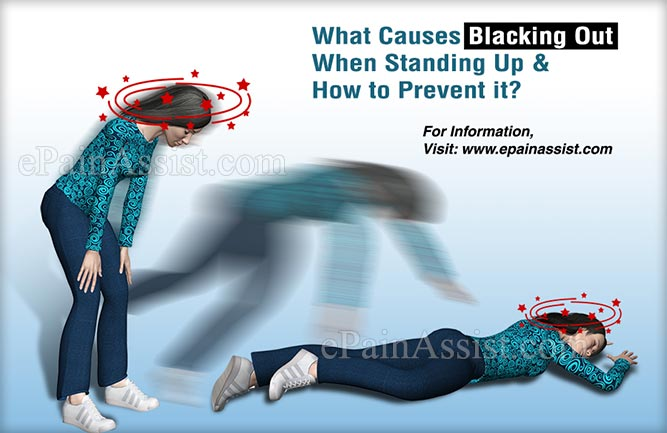What Causes Blacking Out When Standing Up & How to Prevent it