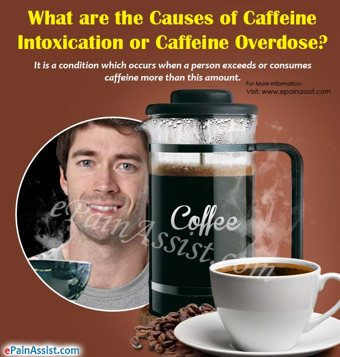 What are the Causes of Caffeine Intoxication or Caffeine Overdose?