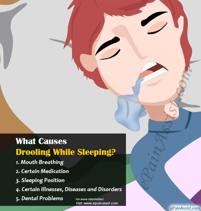 What Causes Drooling While Sleeping?