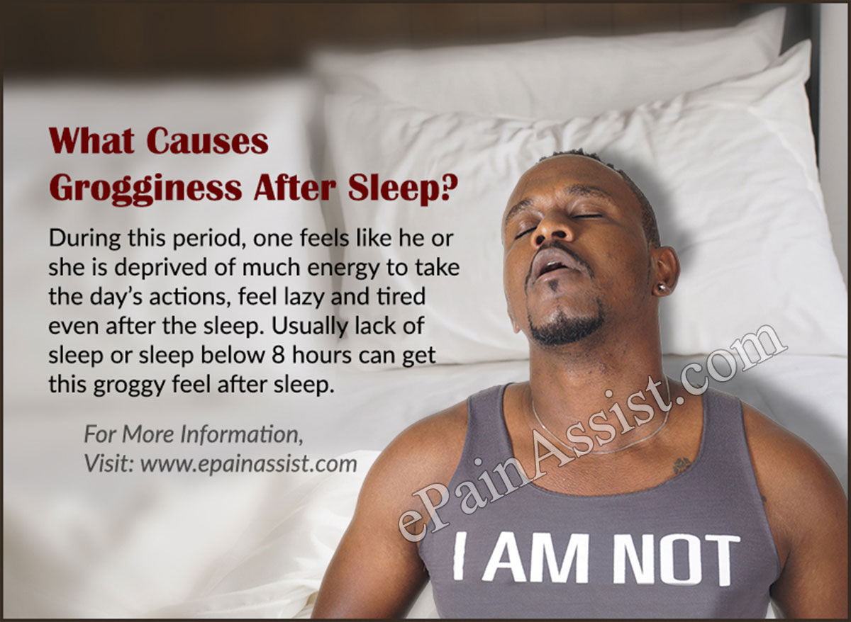 What Causes Grogginess after Sleep?