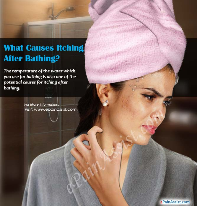 What Causes Itching After Bathing?