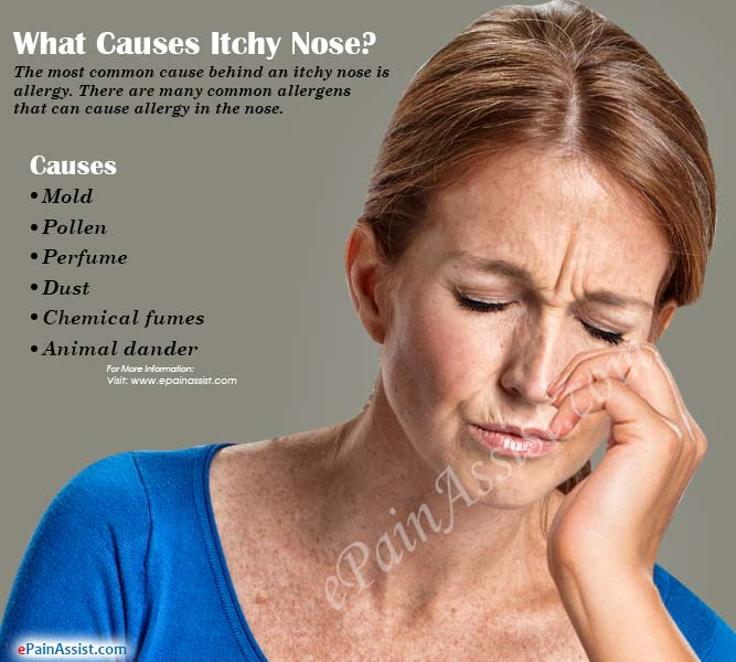 What Causes Itchy Nose & How to Get Rid of it?
