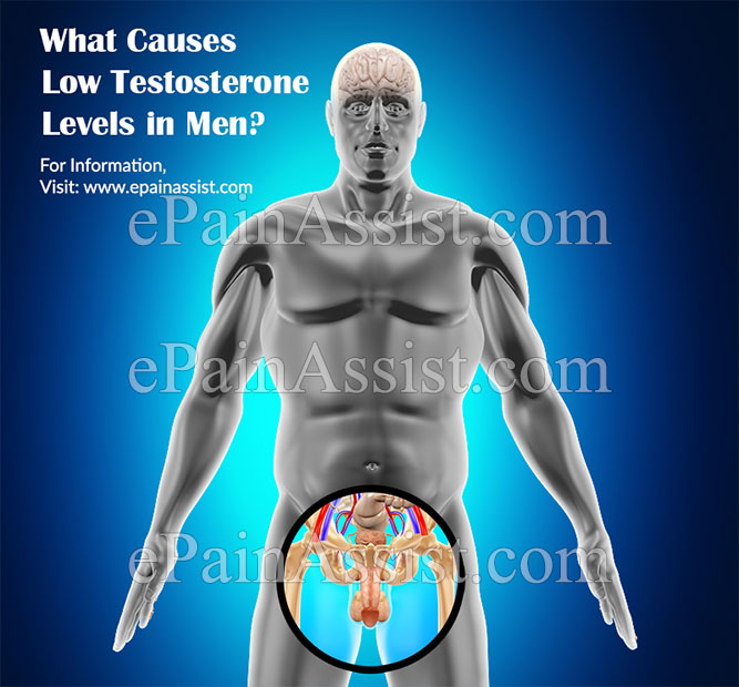 What Causes Low Testosterone Levels in Men?