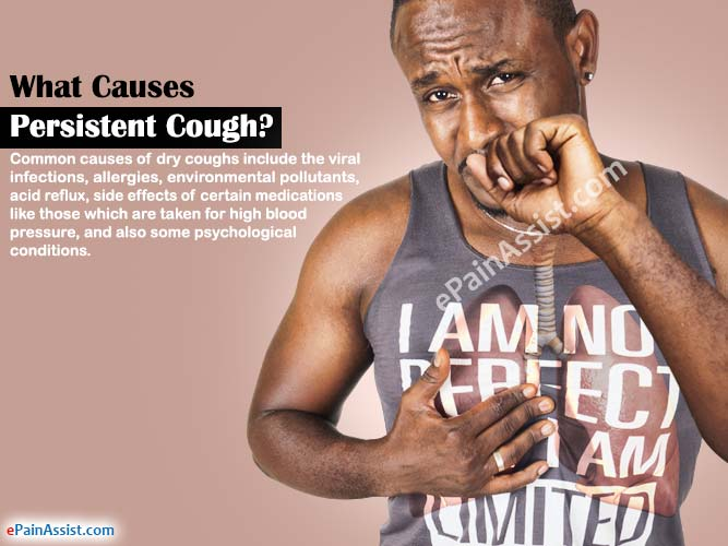 What Causes Persistent Cough?