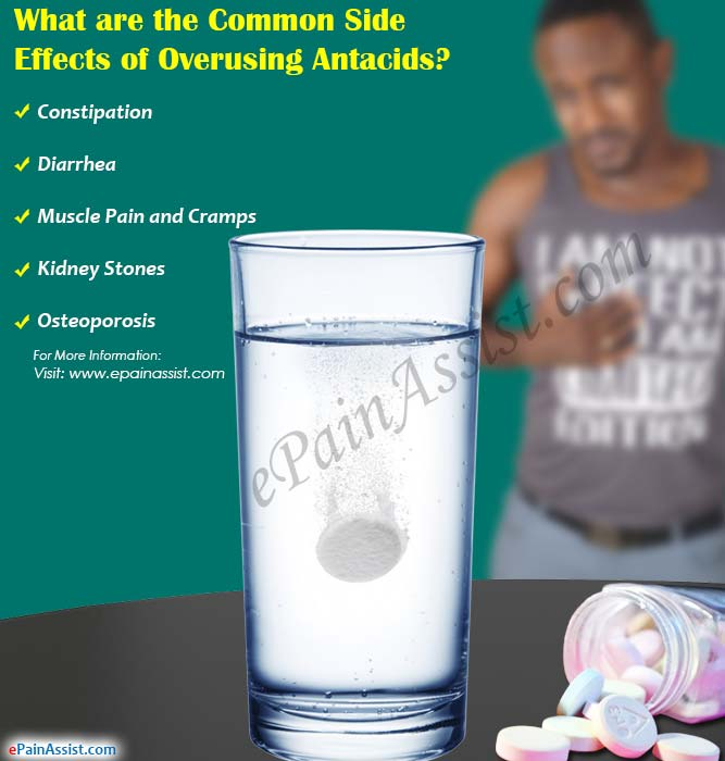 What are the Common Side Effects of Overusing Antacids?