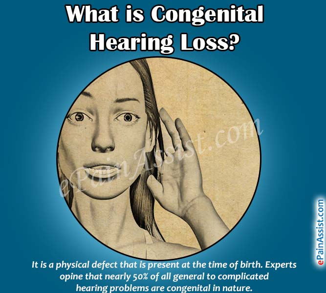 What is Congenital Hearing Loss?