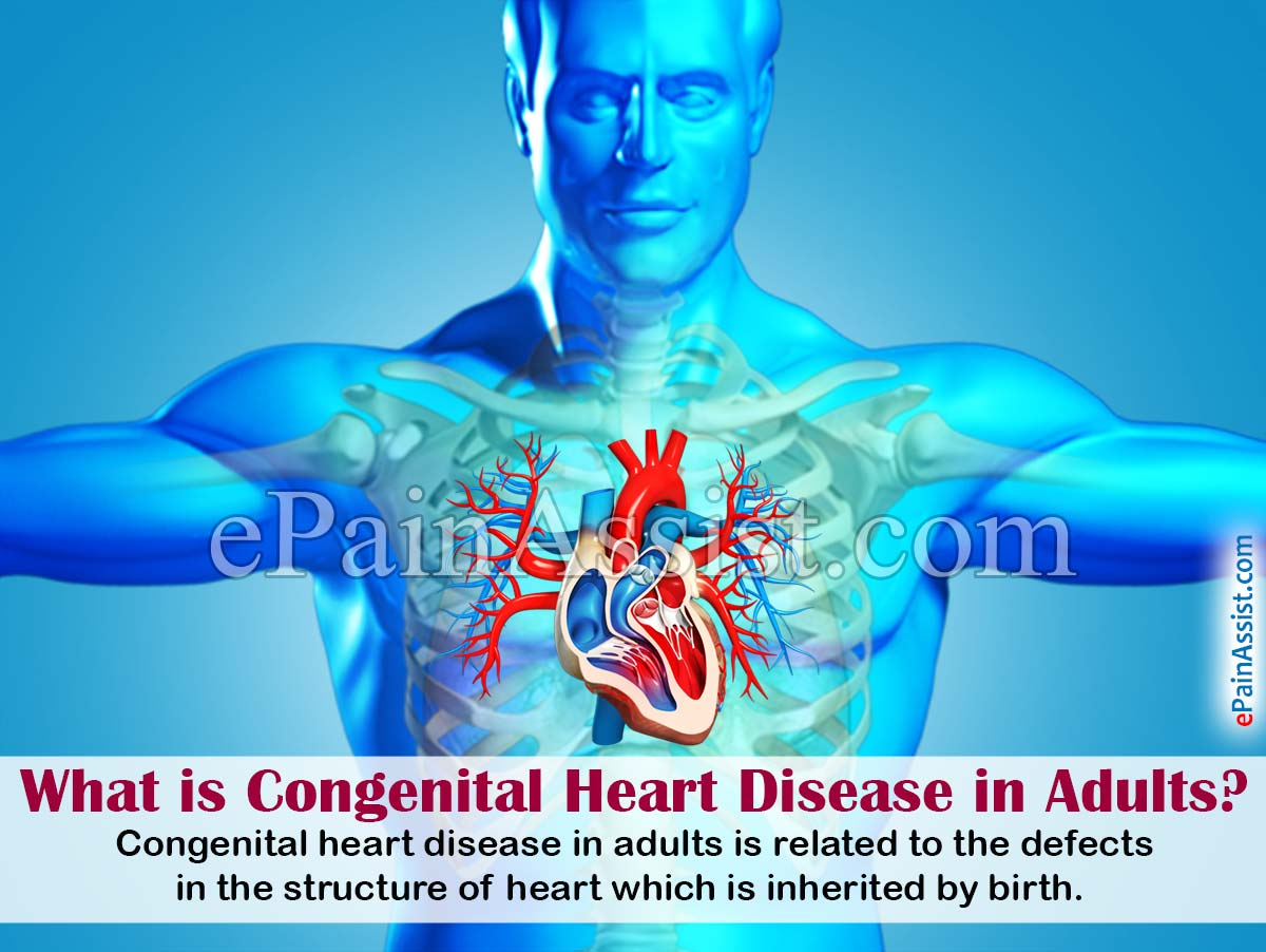 adults disease Congenital heart in