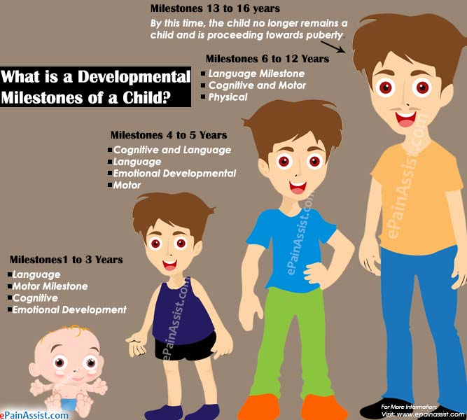 What is a Developmental Milestones of a Child?