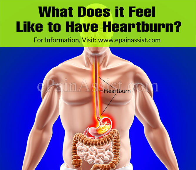 What Does it Feel Like to Have Heartburn?