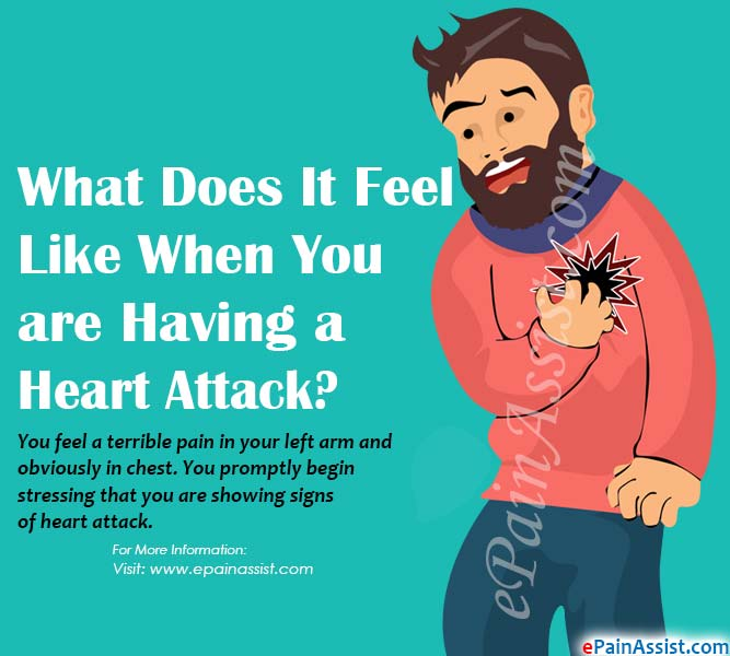What Does It Feel Like When You are Having a Heart Attack?