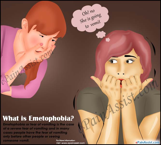 What is Emetophobia or Fear of Vomiting?