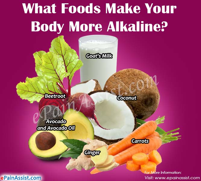 What Foods Make Your Body More Alkaline?