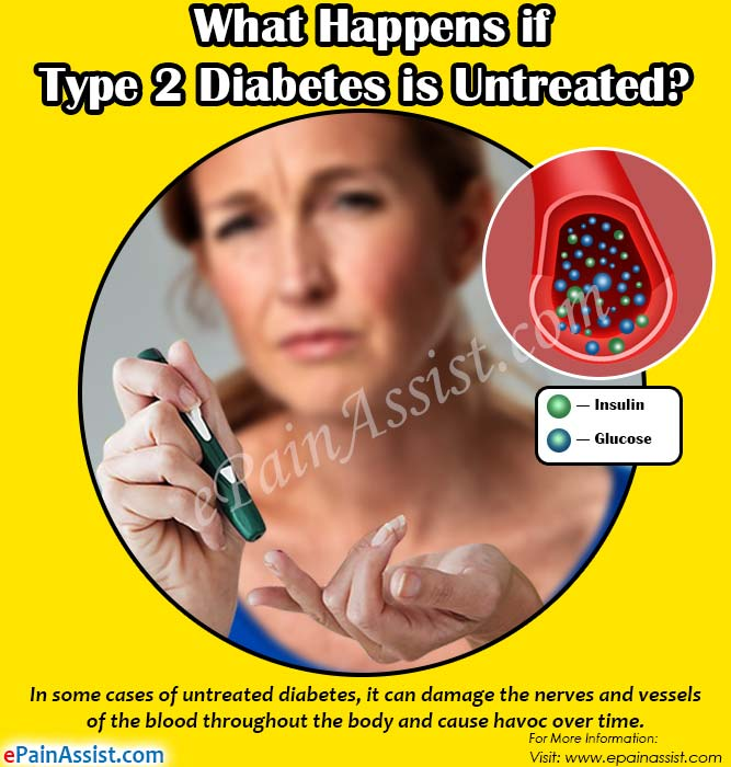 What Happens if Type 2 Diabetes is Untreated?