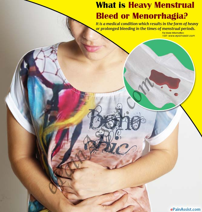 What is Heavy Menstrual Bleed or Menorrhagia?