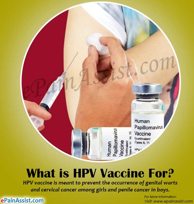 What is HPV Vaccine For?