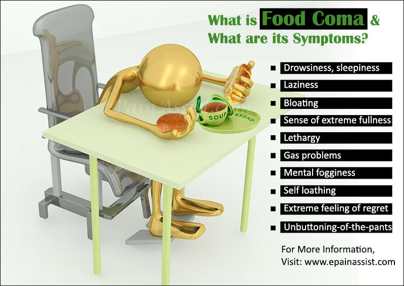 What Causes Food Coma And What Is Its Cure