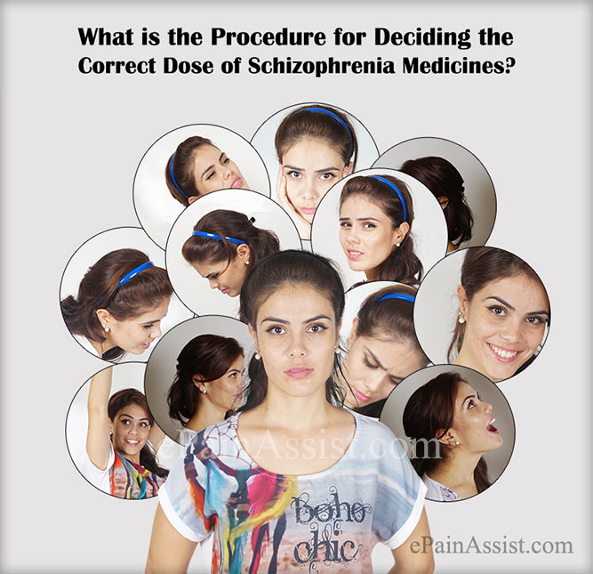What is the Procedure for Deciding the Correct Dose of Schizophrenia Medicines?