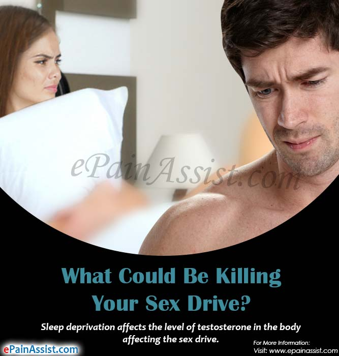 What Could Be Killing Your Sex Drive?