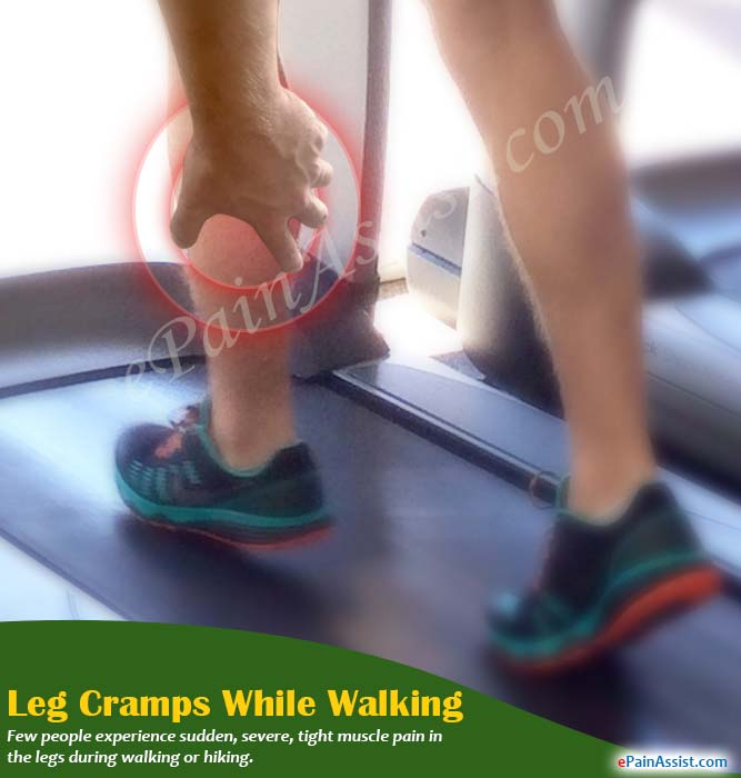 What Causes Leg Cramps While Walking?