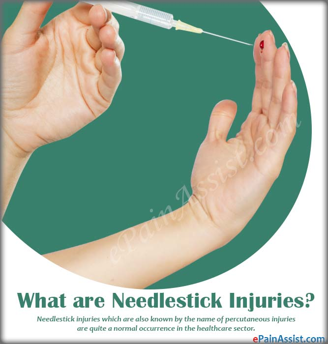 What are Needlestick Injuries?