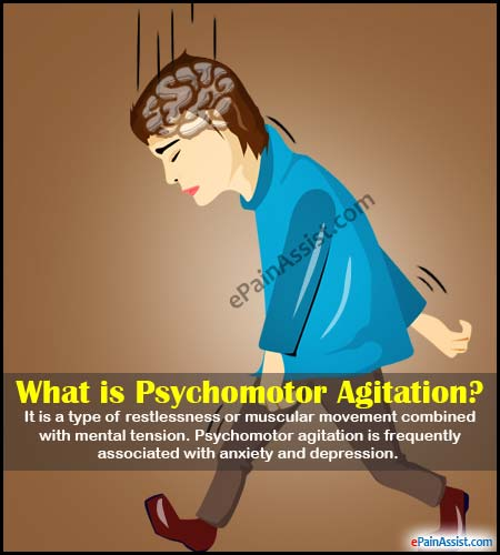 What is Psychomotor Agitation?