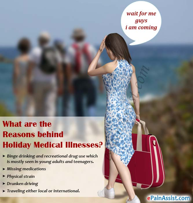 What are the Reasons behind Holiday Medical Illnesses?