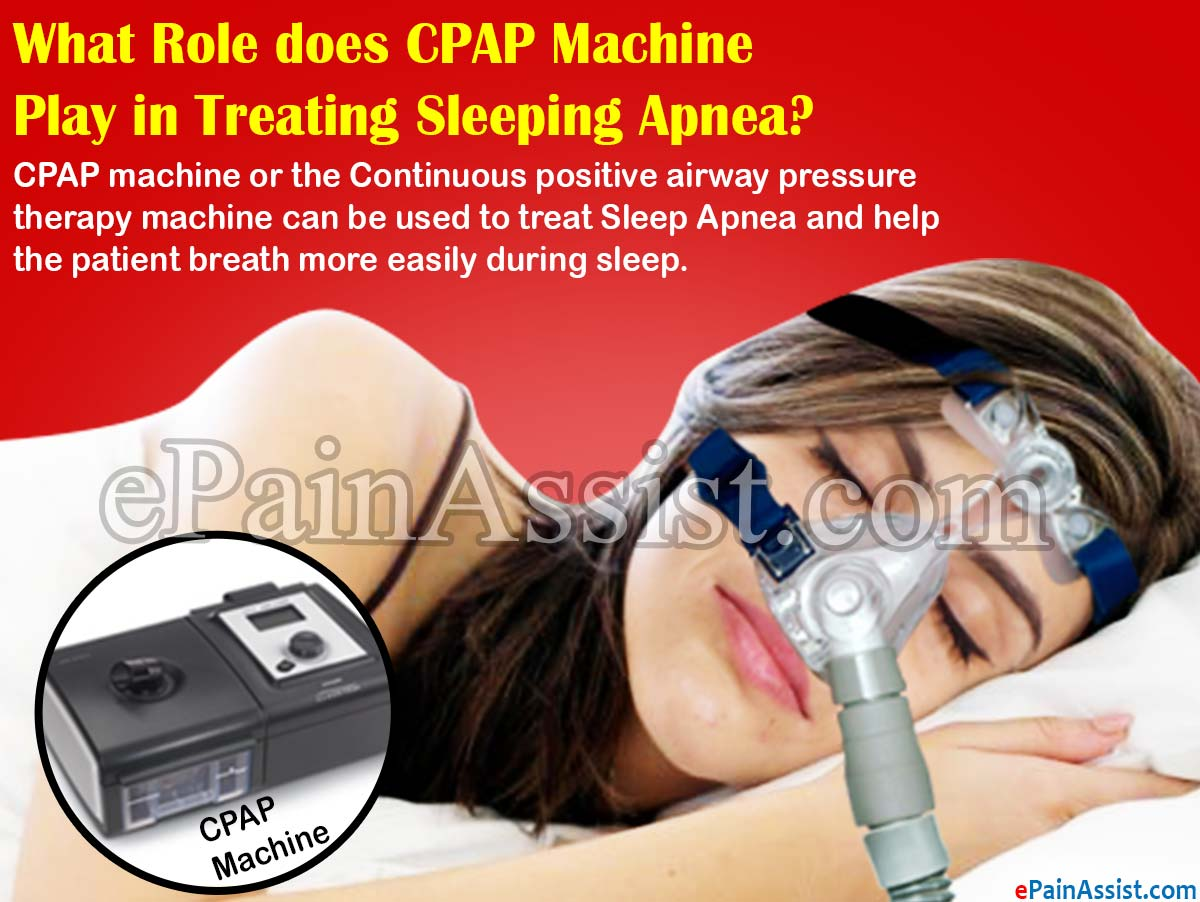 What Role does CPAP Machine Play in Treating Sleeping Apnea?
