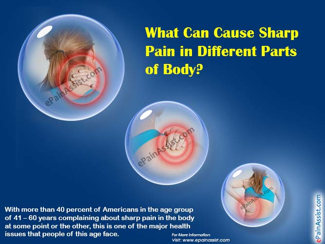 What Can Cause Sharp Pain in Different Parts of Body?