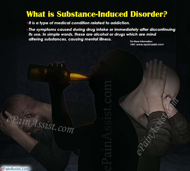What is Substance-Induced Disorder?