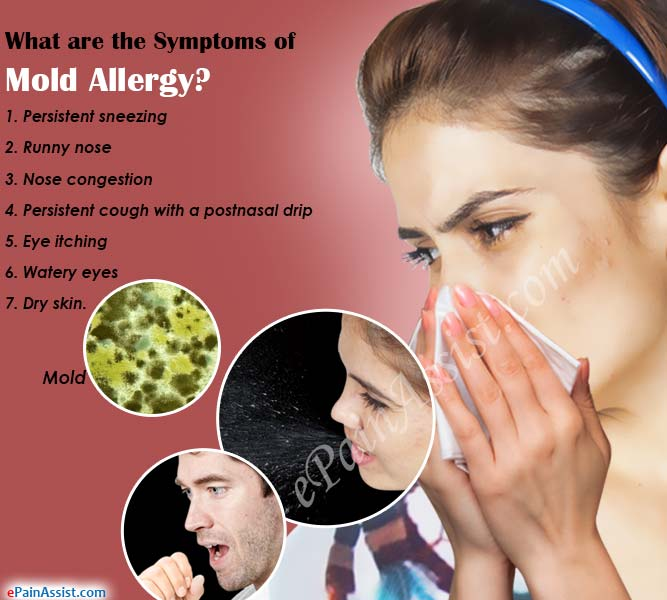 What Are The Symptoms Of Mold Allergy