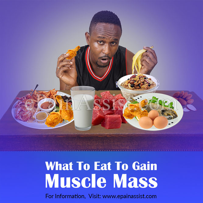 What To Eat To Gain Muscle Mass?
