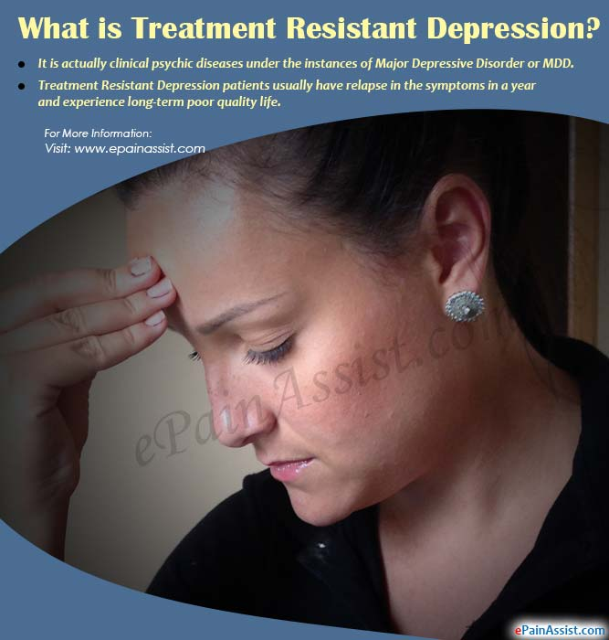 What is Treatment Resistant Depression or TRD?