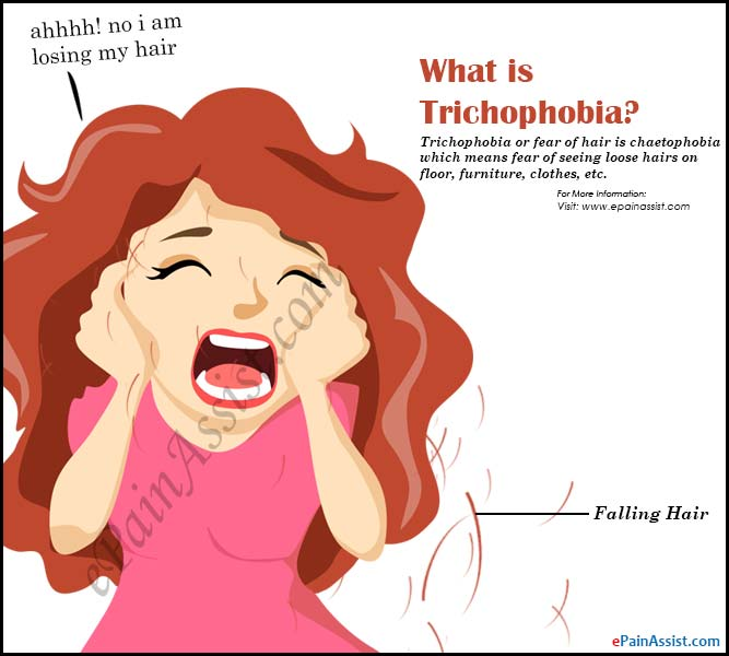 What is Trichophobia or Fear of Hair?