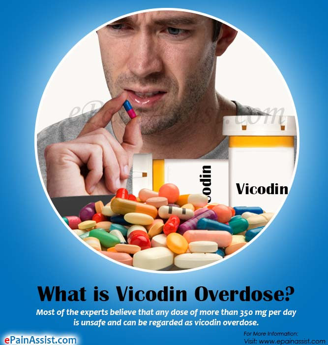 What is Vicodin Overdose?