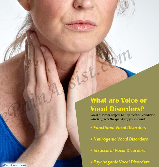 What are Voice or Vocal Disorders?